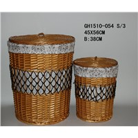 WIllow Baskets, Straw Products, Paper Rope Basket