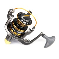 Hot Wheels Spinning Fishing Reel 10BB 5.0:1 Spinning Wheel Sea Rock Lure Fishing Reels Pesca Coil Reel JS6000 Series