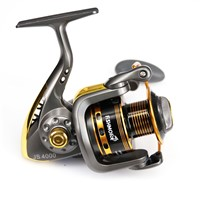 Hot Wheels Spinning Fishing Reel 10BB 5.0:1 Spinning Wheel Sea Rock Lure Fishing Reels Pesca Coil Reel JS4000 Series