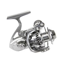 DEUKIO Fishing Reel Full Metal 11+1 BB Stainless Steel Spinning Fishing Wheel Tackle MC4000