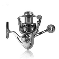 DEUKIO Fishing Reel Full Metal 11+1 BB Stainless Steel Spinning Fishing Wheel Tackle MC3000