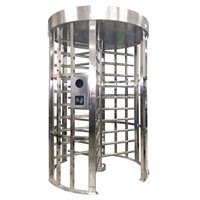 Bi Directional RFID Reader Automatic Barrier Full Height Turnstile