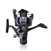 DEUKIO Spinning Fishing Reel Durable Front Rear Drag System Carp Fishing Wheel Saltwater Fish Reel Tackle J3-20FR