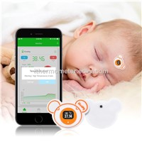Fever Care Baby Thermometer- Medical Grade Adhesive Continuously Temperature Monitoring