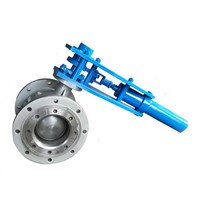 Hydraulic Operated Eccentric Hemspherical Valve