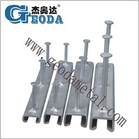 Cold Rolled Cast in Channel/Anchor Steel Channel