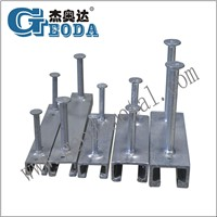 Hot Rolled Cast in Channel/Anchor Steel Channel