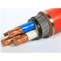 3 Core Copper Conductor Medium Voltage Armoured XLPE Insulated Power Cable
