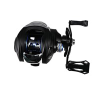 DEUKIO TT101-Right 7.2:1 High Speed Fishing Reel Metal Right Hand Water Drop Fishing Wheel Bait Casting Reel Tackle Tool