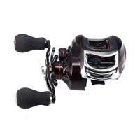 DEUKIO TT102-Left Hand Bait Casting Fishing Reel 13+1BB 6.3:1 High Speed Metal Spoon Magnetic Brake System