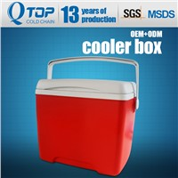 8L Plastic Mini Ice Cooler Box for Outdoor