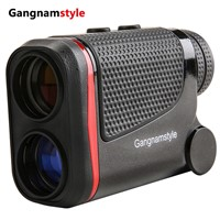 Gangnamstyle Golf Rangefinder with Laser for Flag-Lock Measurement Range Finder +/-0.3Yards Precision (3.5~600m)
