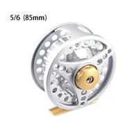 DEUKIO 85mm Fly Fishing Reel Flies Front Line Wheel 2+1BB 1:1 Gear Ratio Outdoor Sports 2018 Hot Sale Fishing Tackle