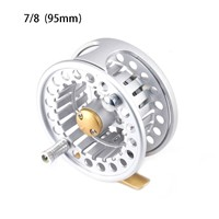 DEUKIO 95mm Fly Fishing Reel Flies Front Line Wheel 2+1BB 1:1 Gear Ratio Outdoor Sports 2018 Hot Sale Fishing Tackle