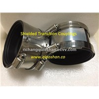 3003 Series Copper Pipe to Copper Pipe Stainless Steel Shielded Transition Couplings with EPDM Rubber