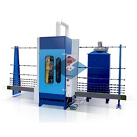 Automatic Vertical Glass Sand Blasting Machine