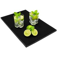 Bar Service Spill Soft PVC Bar Mat Custom Logo & Size