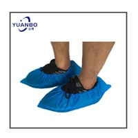 Disposable Waterproof Overshoes PE Surgical Shoe Cover