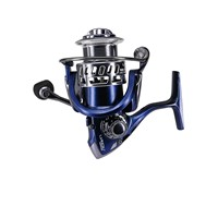 DEUKIO HY5000 Carp Spinning Fishing Reel 9+1bb Sea Saltwater Metal 5.5:1 Vissen Fishing Wheel