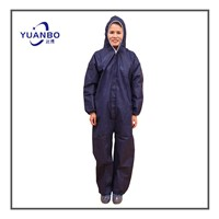 Disposble Blue Coveralls Suits