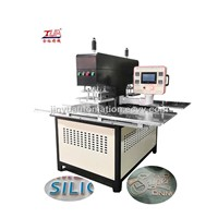 Silicone Label Logo Moulding Machine onto Garment
