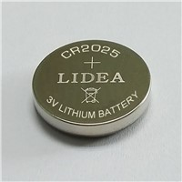 Lithium Button Cell CR2025 Battery