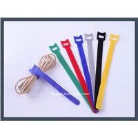 Industrial Velcro T Type Self-Adhesion Left Hand Thread Cable Tie, Colours
