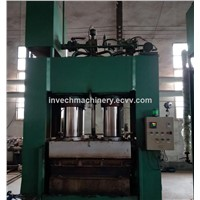 Hot Press Wood Sawdust Pallet Compressed Machine