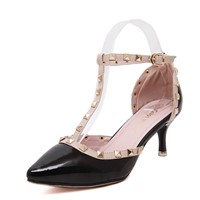 Women's Pumps Elegant Stylish Rivets Decor Cusp Nightout Party Shoes