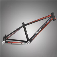 24''Aluminium Alloy Mountain Frame for Kids TWITTER TW2400 AL6061 Direct Bike Manufacture Bike Components Supplier