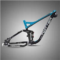 China Professional Bike Factory Outlet 27.5'' Full Suspension Aluminium Alloy Mountain Frame TWITTER Bicycle Wholesale