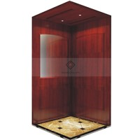 Wood Decorating Residential Home Elevator Lift with Manual Door
