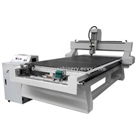 Best Wood Door Making CNC Router Cutting Machine with Rotary Device
