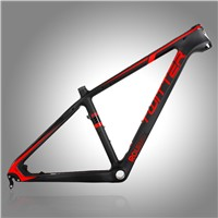 OEM/ODM Bike Accessories TWITTER 26''/27.5'' ROUBAIX Carbon Mountain Frame Direct Bike Supplier In China 15.5'' 17''