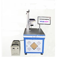 3-5mW UV Fiber Laser Marking Machine for Glass Bottle