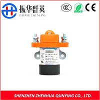 DC Battery Contactor Mechanical Life up To 300 Thousand Times Bridge Double Coil Contacts