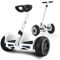 "Phoenix 10"" Electric Scooter Balancing Boards Intelligent Sense Bluetooth Remote Control Self-balancing Vehicle - White"