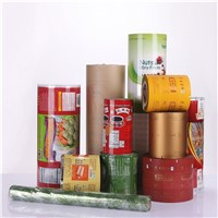 Snack Food Packing Film Roll with Printing