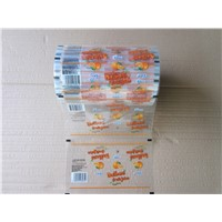 Transparent Packing Film Roll, Food Printing Packing Film