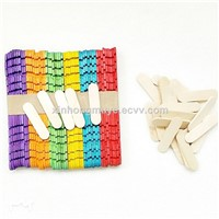 Wooden Icecream Craft Sticks for DIY Handel Art Craft 114X10X2MM