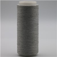 Carbon Conductive Fiber Nylon Filaments 20D/3F Twist with 200D White DTY Polyester Filaments Yarn for ESD XT11840