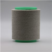 Conductive Carbon Fiber 20D Twist with Ne32/1ply 100% Cotton Yarn for Electro Static Discharge Uniform ESD XT11460