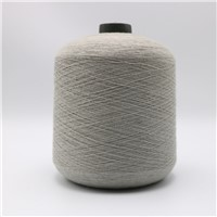 Light Grey Ne16/1ply 5% Stainless Steel Staple Fiber Blended with 95% Pl Fiber for Knitting Touchscreen Gloves XT11041