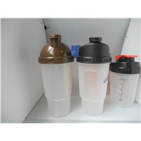 Protein Powder Plastic Shaker Bottle Blender Water Bottle Cup