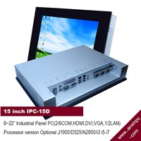 Touch Screen 15 Inch Industrial Panel PC