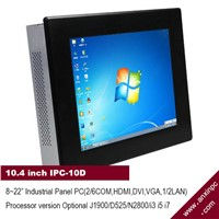 10.4 Inch All In One Touch Screen Industrial Panel PC