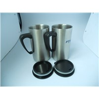 Wholesale Christmas Gift Double Layer Stainless Steel Thermo Coffee Mug