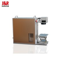 Portable Stainless Steel Aluminum Copper Brass Plastic Fiber Laser Marking Machine 20W 30W 50W