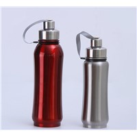 Stainless Steel Space Sports Travel Thermal Kettle Portable Vacuum Insulated Thermos Bottle