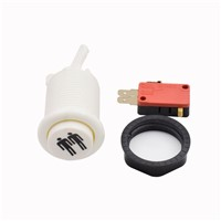 1,2,3,4players Printing White American Style Push Button Switch